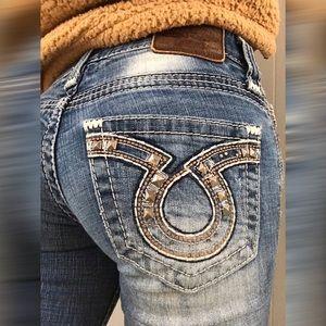 Big Star blue jeans